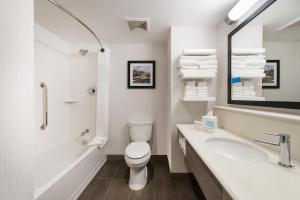 A bathroom at Hampton Inn & Suites Miami Midtown, FL