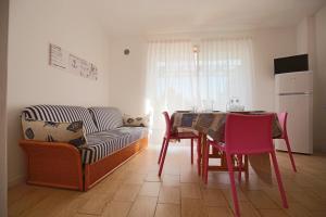 Posezení v ubytování Residence Selenis
