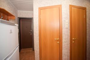 Ванная комната в Апартаменты на Ленинградской 63