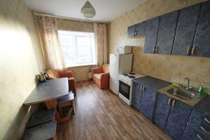 A kitchen or kitchenette at Apartments at Nekrasova 8