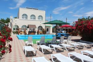 The swimming pool at or near Arbuz Guest House