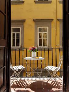 Balcon ou terrasse dans l'établissement SanBiagio, 25 Guesthouse
