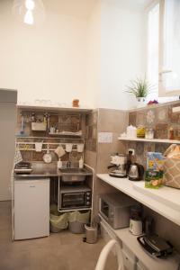 Cuisine ou kitchenette dans l'établissement SanBiagio, 25 Guesthouse