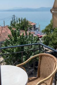 Μπαλκόνι ή βεράντα στο Ξενοδοχείο Ειρήνη