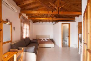 Ένα ή περισσότερα κρεβάτια σε δωμάτιο στο Pension Eliza