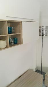 A bathroom at La Vecchia Locanda