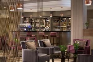 The lounge or bar area at The Westin Zagreb
