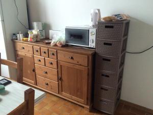 A kitchen or kitchenette at Maison de Pays