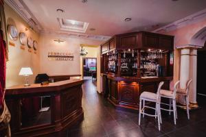 Лаундж или бар в Бутик Отель Ренессанс