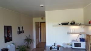 Kjøkken eller kjøkkenkrok på Sørvågen INN