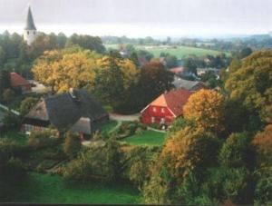 Blick auf Neukirchener Hof aus der Vogelperspektive