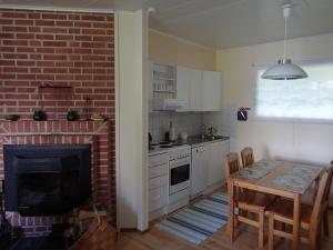 Küche/Küchenzeile in der Unterkunft Villa Anna