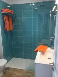 Un baño de Apartamento Albatros