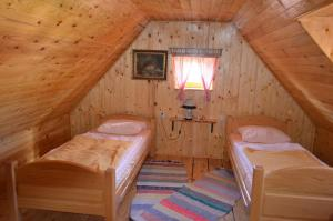 Krevet ili kreveti u jedinici u objektu Holiday Home Stara Lika