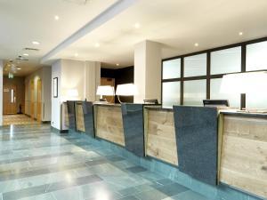 Лобби или стойка регистрации в Hilton Garden Inn Birmingham Brindley Place