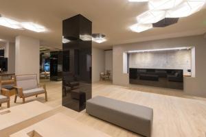 Χώρος καθιστικού στο Ξενοδοχείο Αγγέλικα