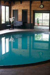 The swimming pool at or near Bavarian Inn, Black Hills