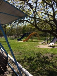 Children's play area at Апартаменты на Чапаева 24