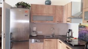 Kuchyň nebo kuchyňský kout v ubytování ML Suites 2