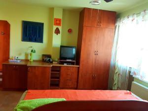 Postel nebo postele na pokoji v ubytování Penzión Termál