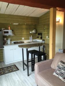 A kitchen or kitchenette at Aspen Breeze B&B