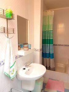 Koupelna v ubytování Penzión Termál