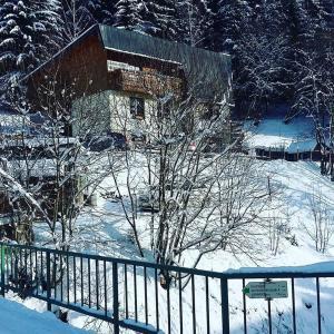 Penzion Sluníčko im Winter