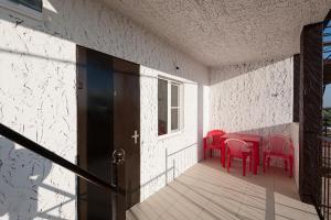 Гостиная зона в Guest House Do Vstrechi