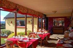 A restaurant or other place to eat at Findus House, Farmhouse Bed & Breakfast