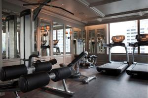 The fitness center and/or fitness facilities at Hotel Muse Bangkok Langsuan - MGallery