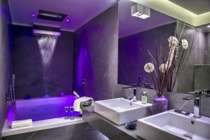 A bathroom at Carten