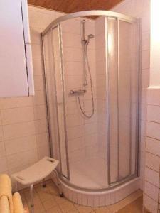 Ein Badezimmer in der Unterkunft Ferienwohnung Mitreuter