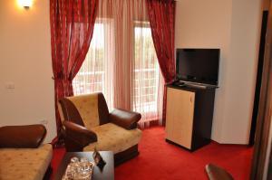 O zonă de relaxare la Hotel Golden Beach