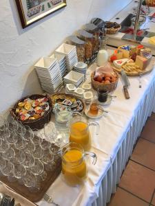 Frühstücksoptionen für Gäste der Unterkunft Hotel Rigi Vitznau