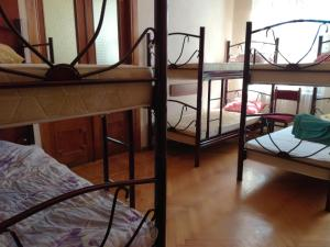 A bunk bed or bunk beds in a room at Hostel in Batumi