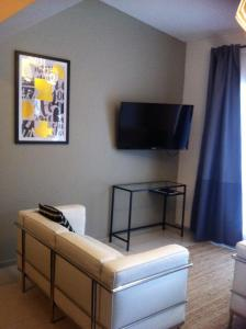 A television and/or entertainment center at Altair Motel