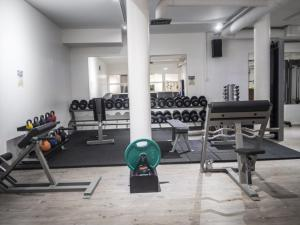 The fitness center and/or fitness facilities at Hotel Suonenjoki