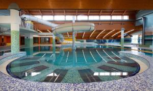 The swimming pool at or near Wellness Hotel Frymburk