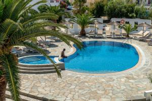 The swimming pool at or near Hotel Benois
