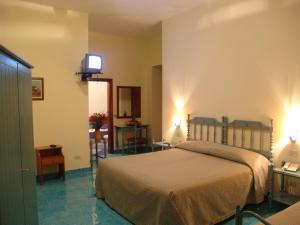 A bed or beds in a room at Hotel La Certosa