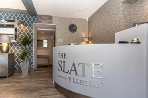 The lobby or reception area at The Slate