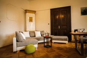Posezení v ubytování My Home in Prague