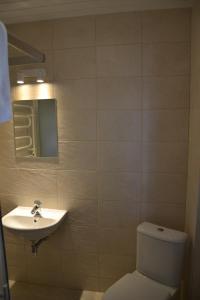Vonios kambarys apgyvendinimo įstaigoje Liepa