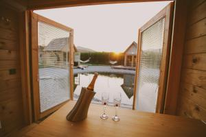 The swimming pool at or near Green Resort Glamping