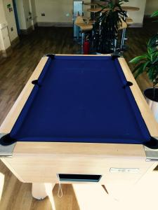 A pool table at The Ridgeway House