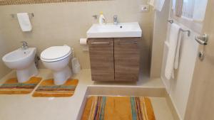 A bathroom at Kristal