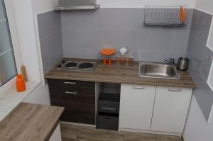 Kuchnia lub aneks kuchenny w obiekcie Atena