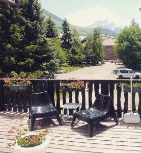 Balcone o terrazza di Hôtel de la Valentin