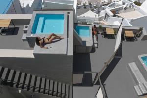 A view of the pool at Aria Suites & Villas or nearby