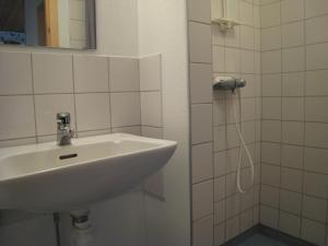 A bathroom at Snäckan